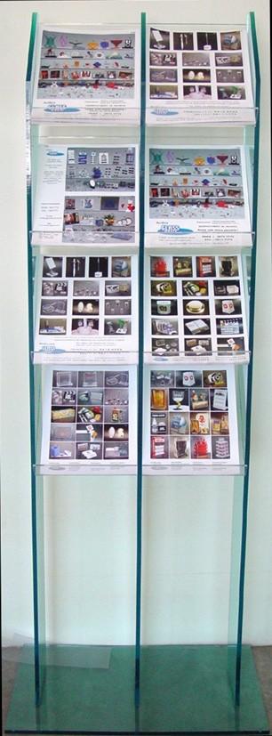 Porta Revistas de Acrílico no Bairro do Limão - Porta Folder de Acrílico