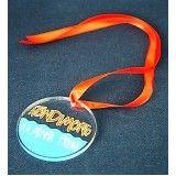 medalha de acrílico no Jaraguá