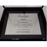troféu para formatura em acrílico transparente preço na Água Branca