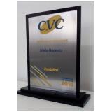 troféu para formatura em acrílico transparente em Pirituba