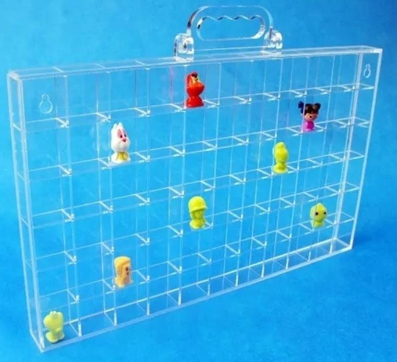 Expositor de Acrílico para Miniaturas na Osasco - Expositor para Loja de Acrílico