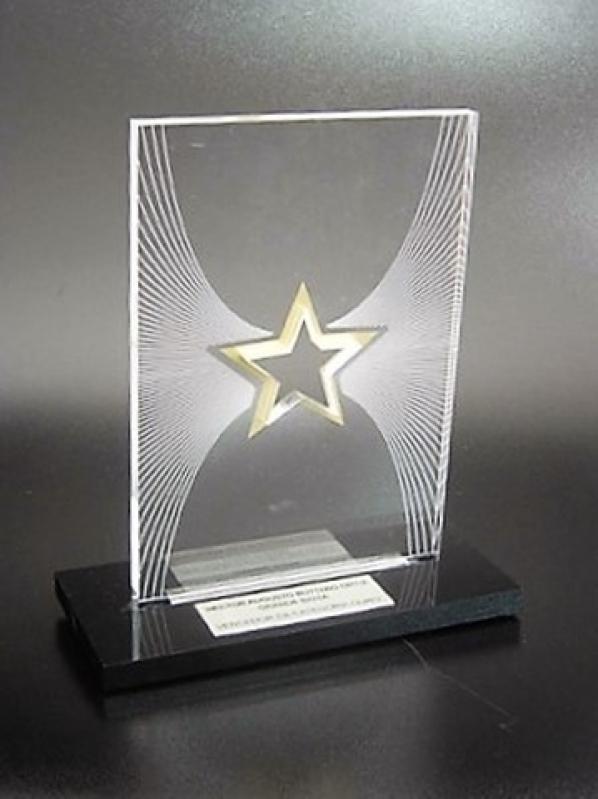 Troféu Acrílico para Premiação Evento