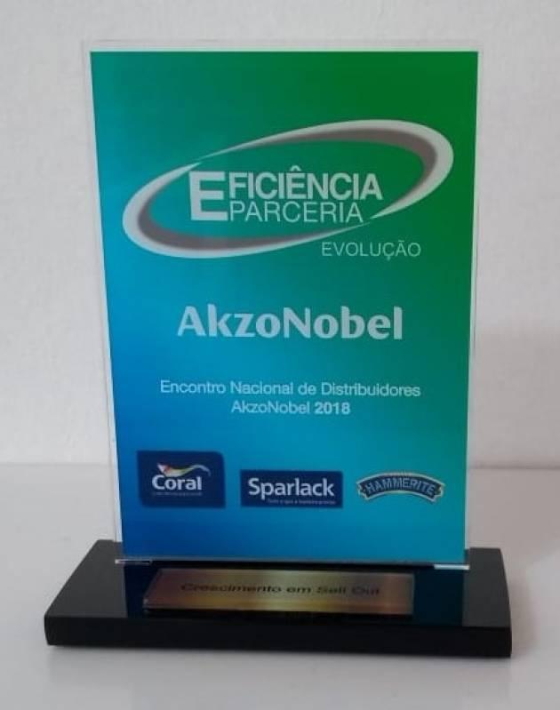 Onde Vende Troféu em Acrílico sob Encomenda Alto de Pinheiros - Troféu e Medalha em Acrílico