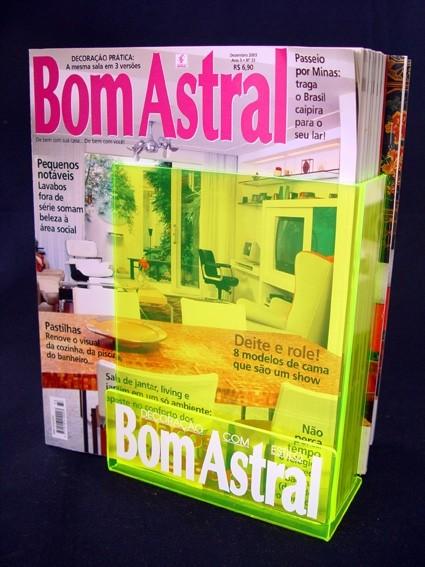 Porta Revista de Acrílico Loja de no Pacaembu - Porta Papel Higiênico de Acrílico