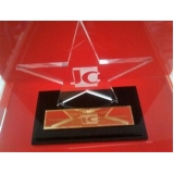 empresa de troféu placa acrílico Alto de Pinheiros