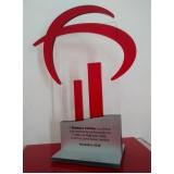 onde comprar troféu em acrílico para personalizar em São Domingos