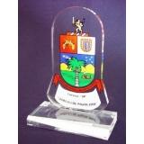 placa de troféu Jardim Paulistano