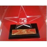 troféu de acrílico para campeonato futebol valor Santo André