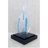 troféu personalizado em acrílico preço Jardim Tereza