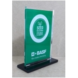 placa de troféu