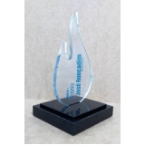 venda de troféu futebol americano acrílico Morumbi