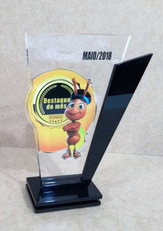 Troféu Acrílico 3d Freguesia do Ó - Troféu e Medalha em Acrílico