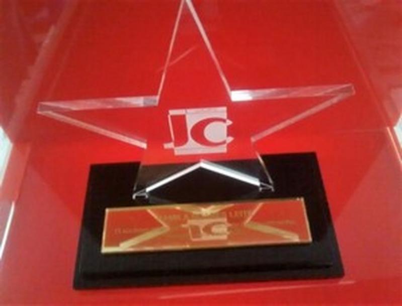 Troféu Acrílico Pronta Entrega Valores Santana - Troféu Acrílico para Premiação