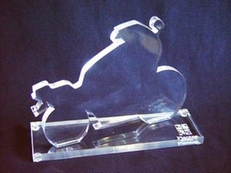 Troféu de Acrílico para Jogador Futebol Jardim Guedala - Troféu em Acrílico Futebol