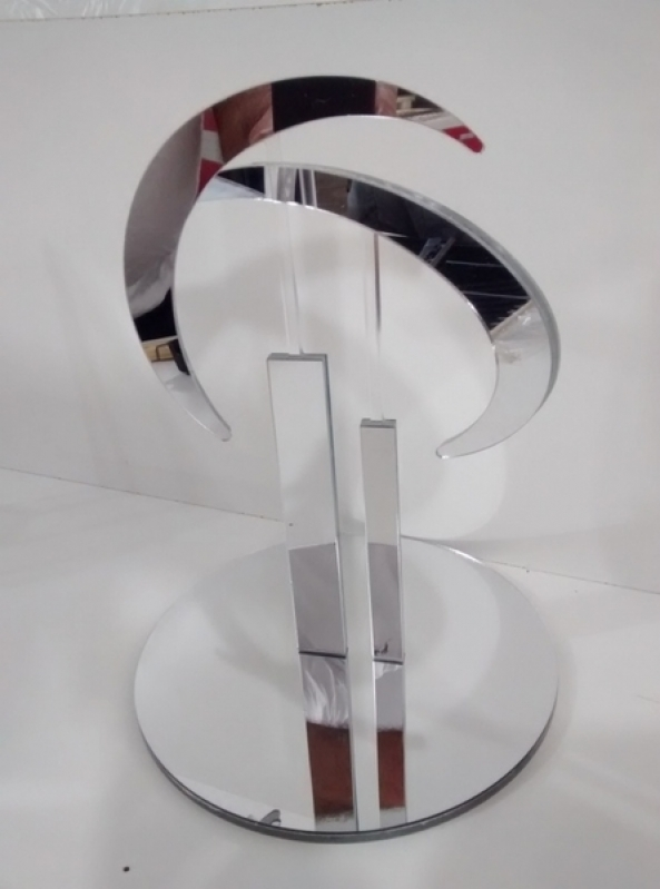 Troféus de Acrílico para Jogador Futebol Jardim Europa - Troféu de Acrílico para Campeonato Futebol