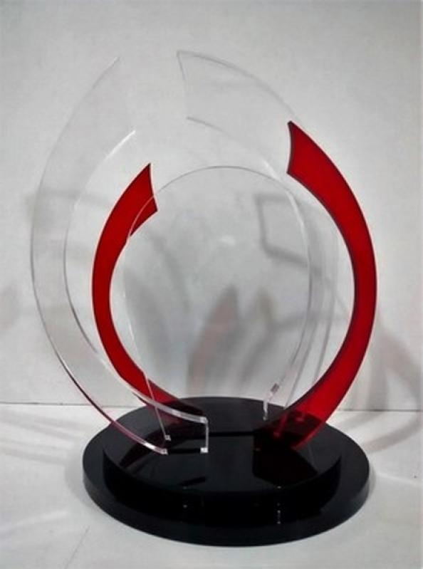 Venda de Troféu de Acrílico para Jogo de Futebol Vinhedo - Troféu de Acrílico para Jogo de Futebol